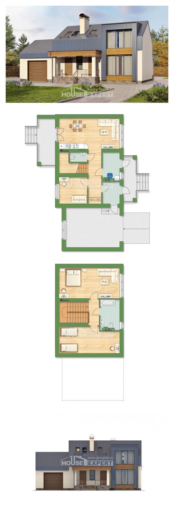 Проект дома 150-015-П   House Expert