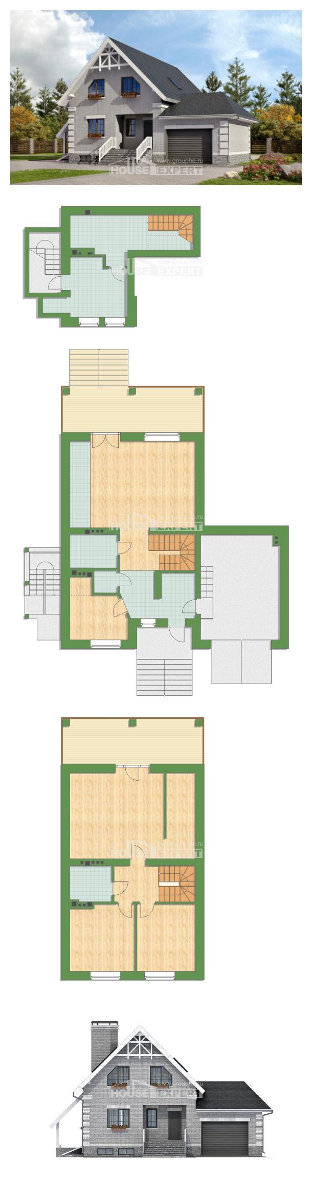 Проект дома 200-009-П   House Expert