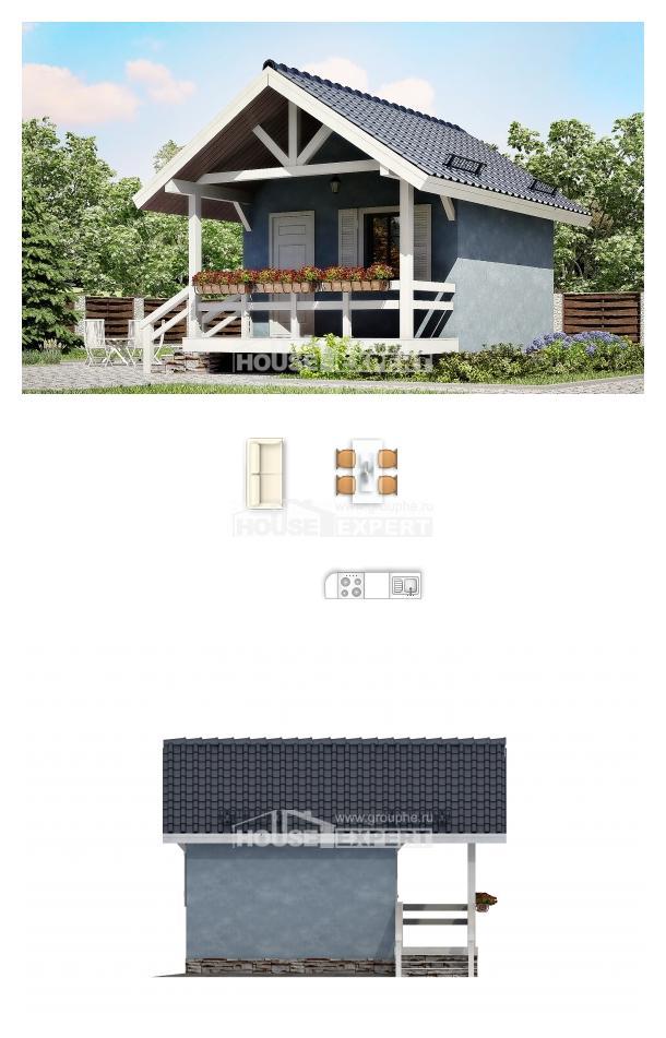 Проект дома 020-001-Л   House Expert