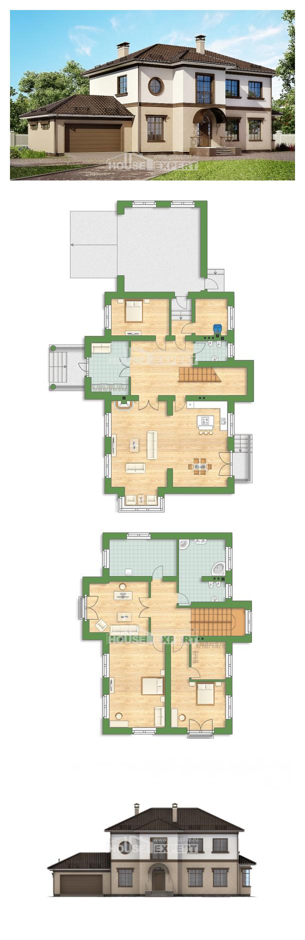 Проект дома 290-004-Л   House Expert