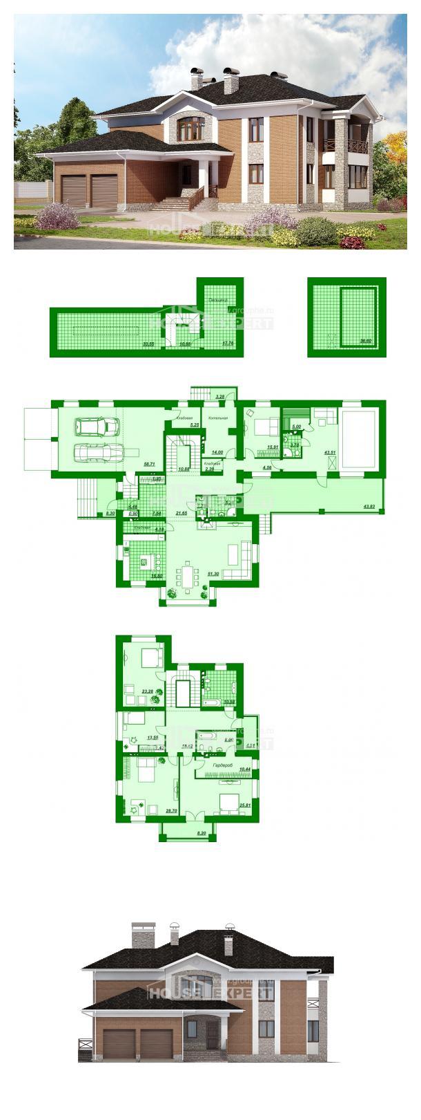 Проект дома 520-002-Л | House Expert