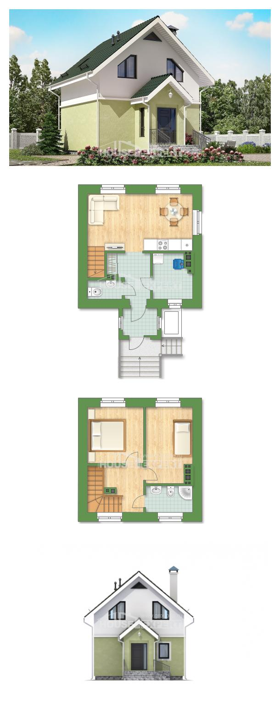 Проект дома 070-001-П | House Expert