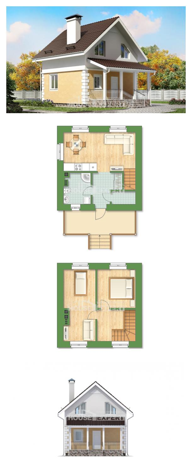 Проект дома 070-002-П | House Expert