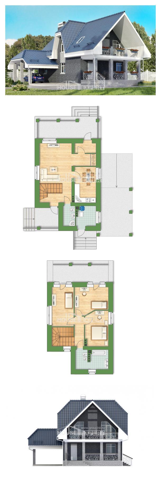 Проект дома 125-002-Л | House Expert