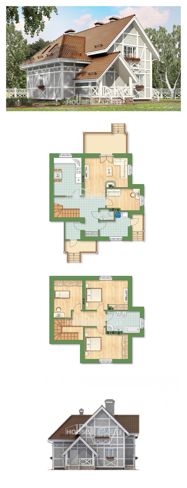 Проект дома 160-003-Л | House Expert
