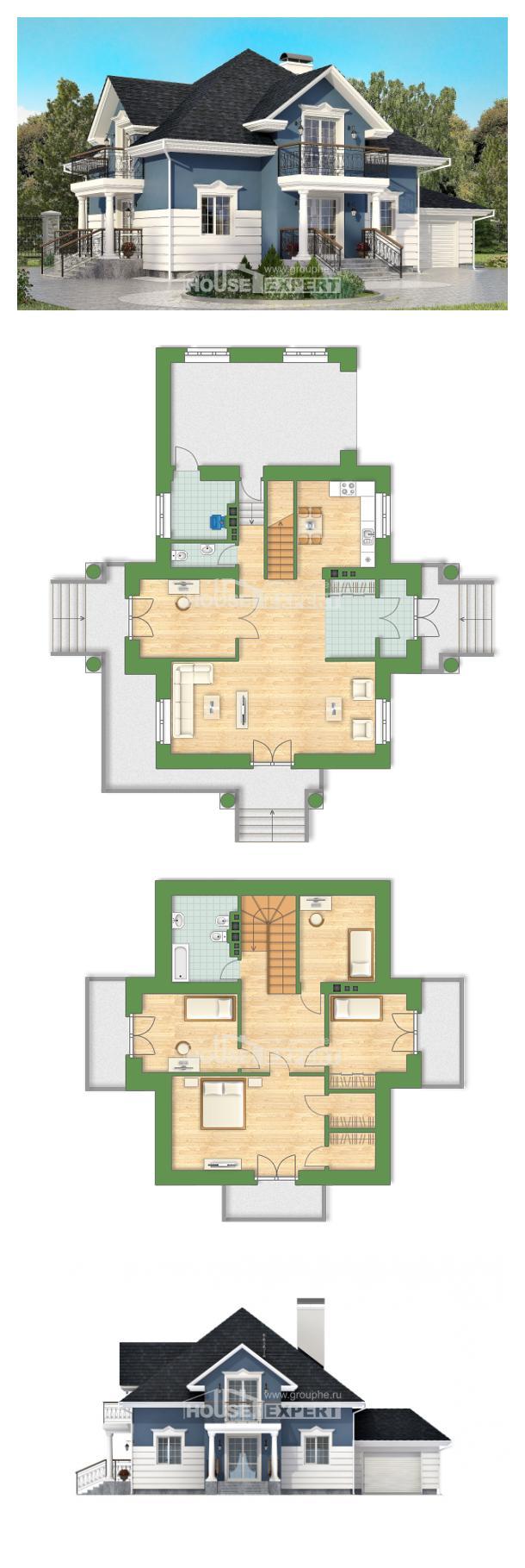 Проект дома 180-002-П | House Expert
