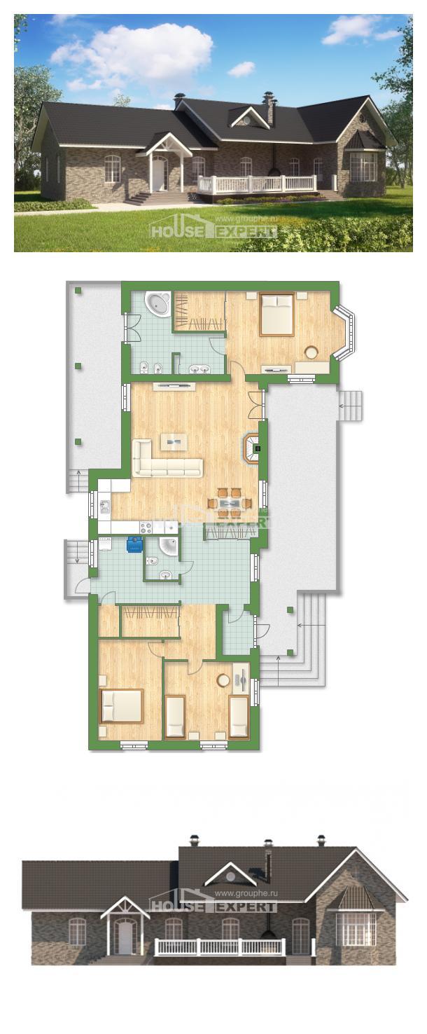 Проект дома 195-001-П   House Expert