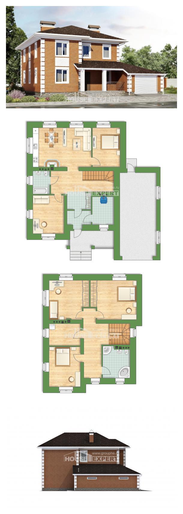 Проект дома 220-004-Л   House Expert