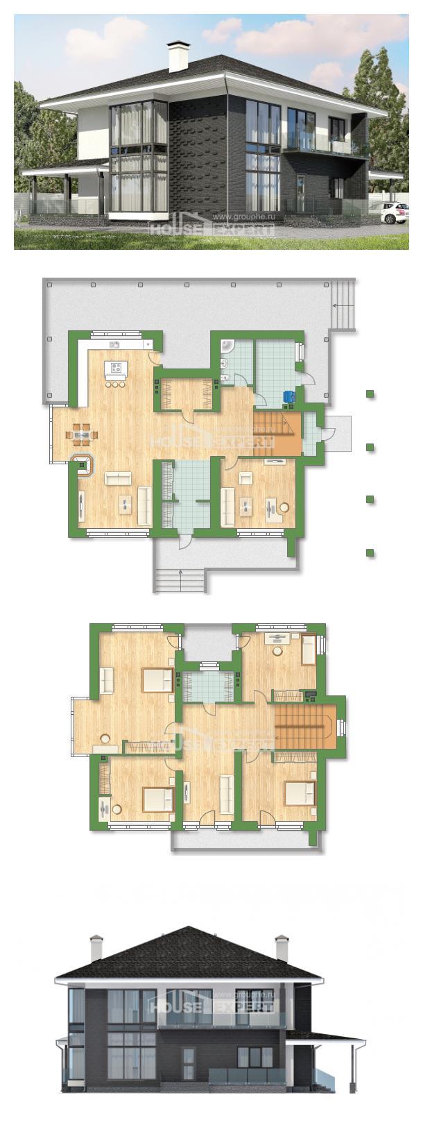 Проект дома 245-002-П | House Expert