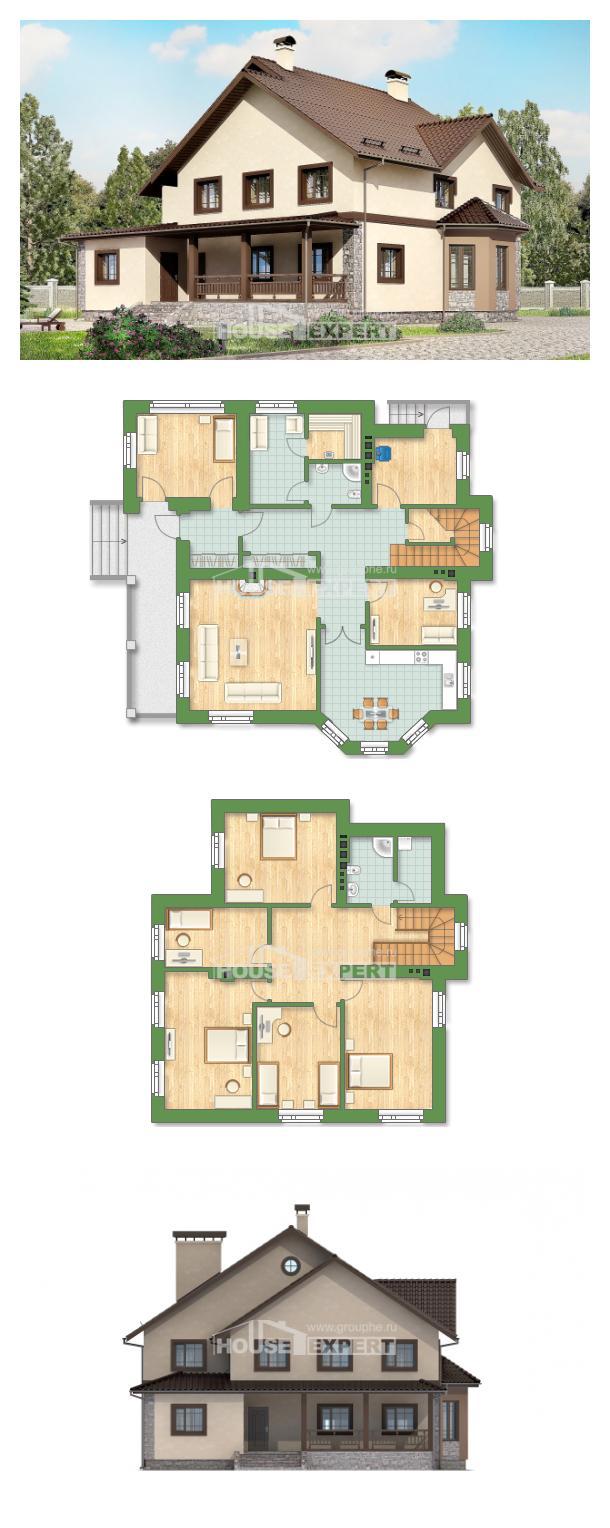 Проект дома 265-003-Л   House Expert