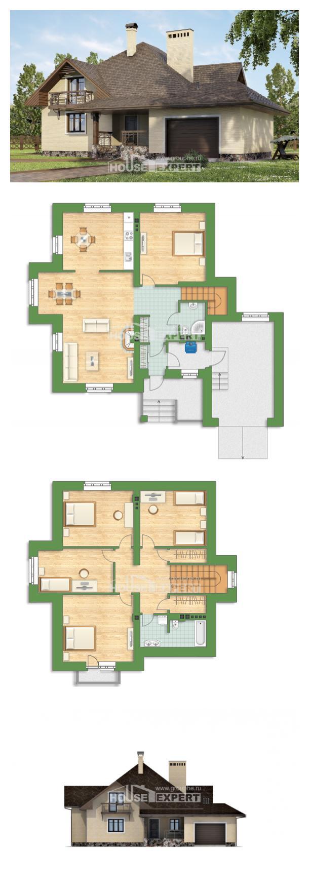 Проект дома 275-003-П   House Expert