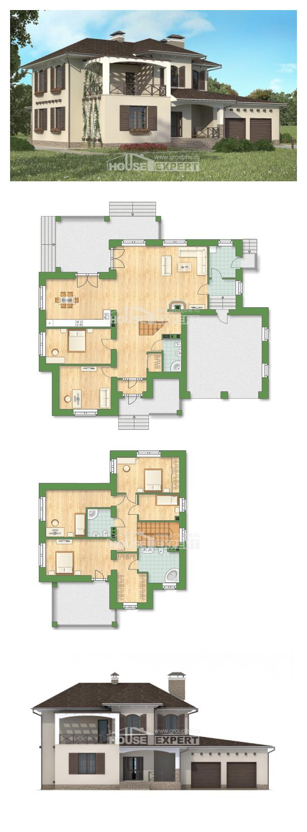 Проект дома 285-002-П   House Expert