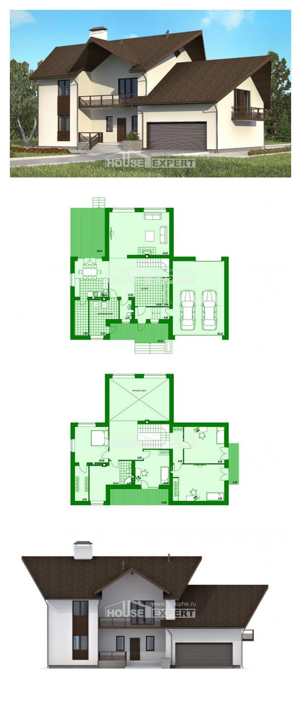 Проект дома 300-002-П | House Expert