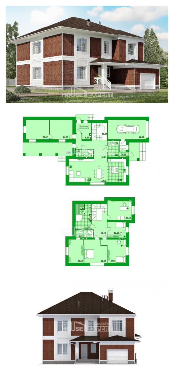 Проект дома 315-001-П   House Expert