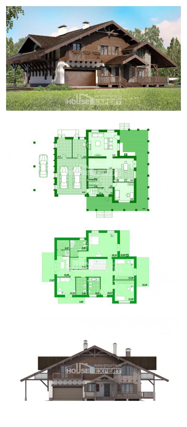 Проект дома 320-001-П | House Expert