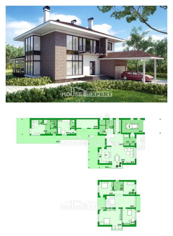Проект дома 340-001-П   House Expert