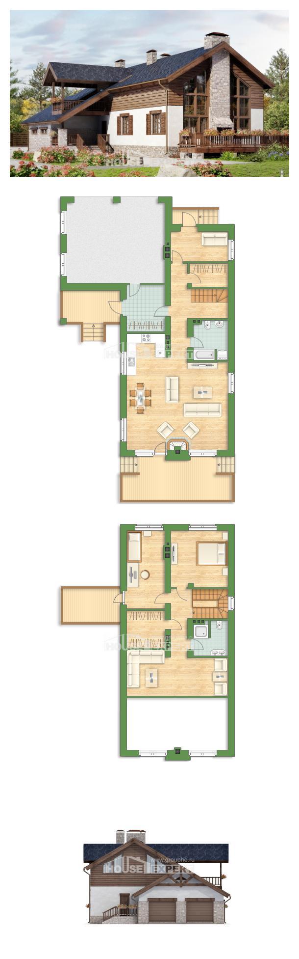 Проект дома 240-002-Л   House Expert