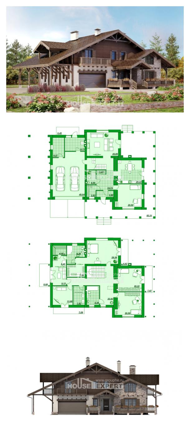 Проект дома 340-003-П   House Expert