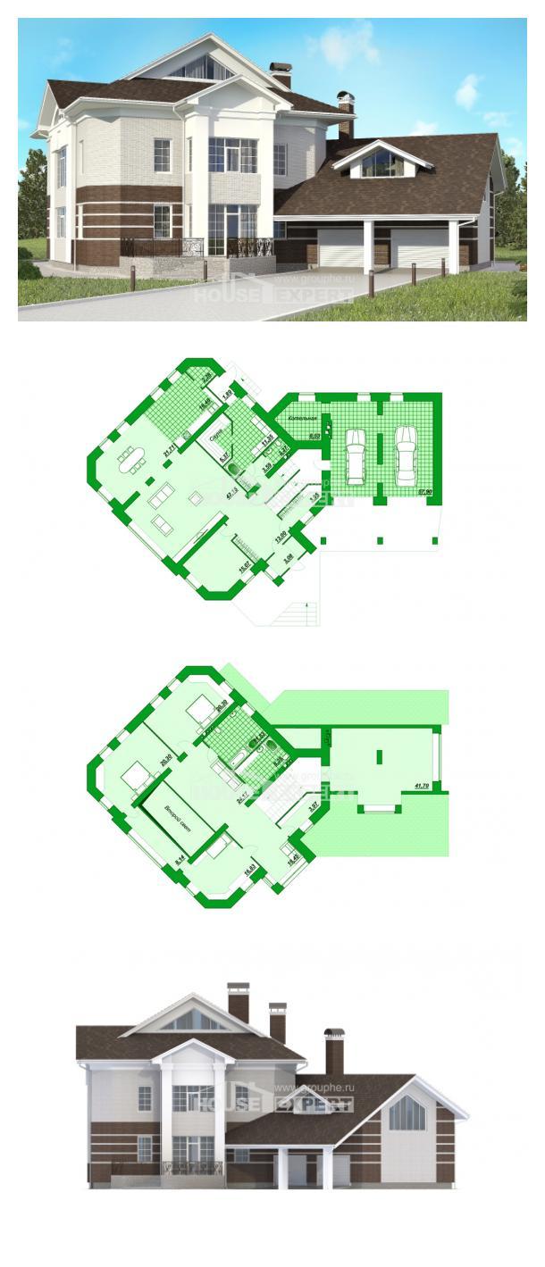 Проект дома 410-001-П   House Expert