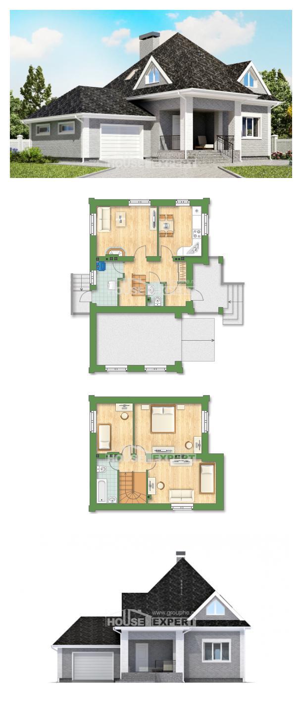 Проект дома 135-001-Л | House Expert
