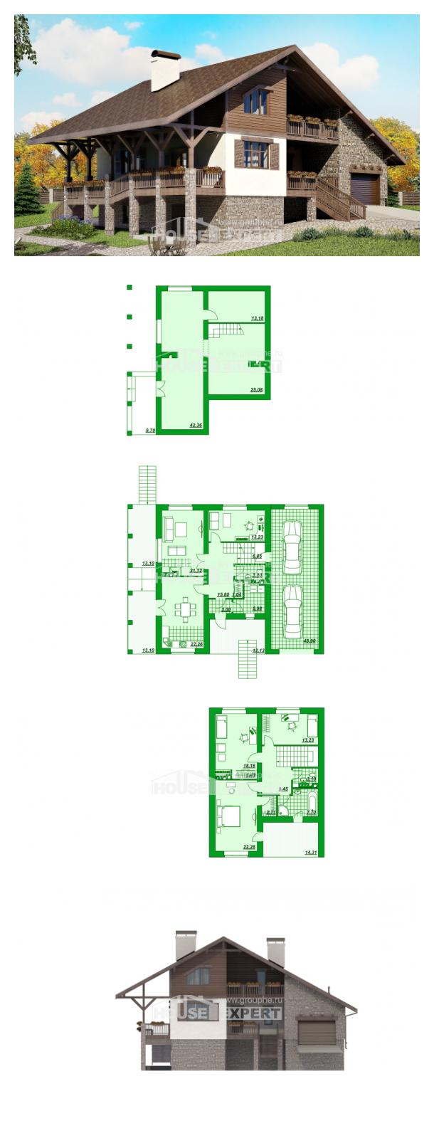 Проект дома 300-003-П   House Expert