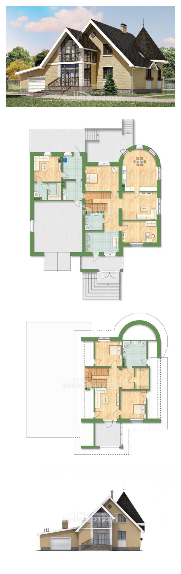 Проект дома 250-001-Л   House Expert