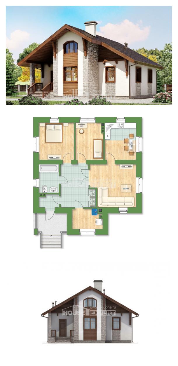 Проект дома 080-002-Л   House Expert