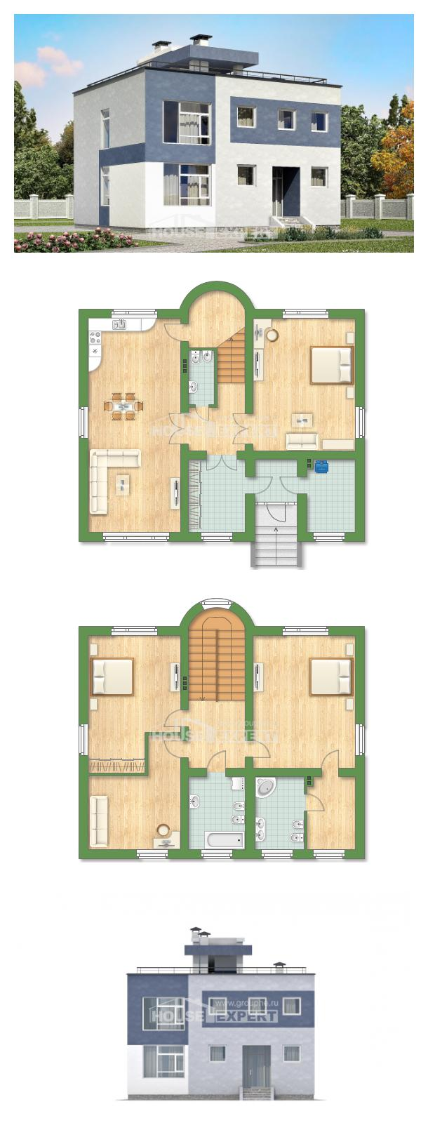 Проект дома 180-005-П | House Expert