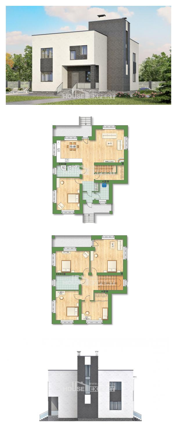 Проект дома 225-001-П   House Expert