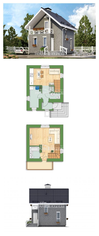 Проект дома 045-001-П | House Expert