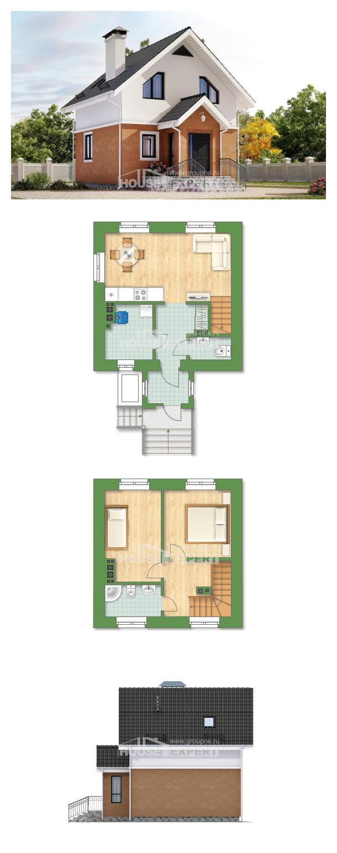 Проект дома 070-001-Л | House Expert