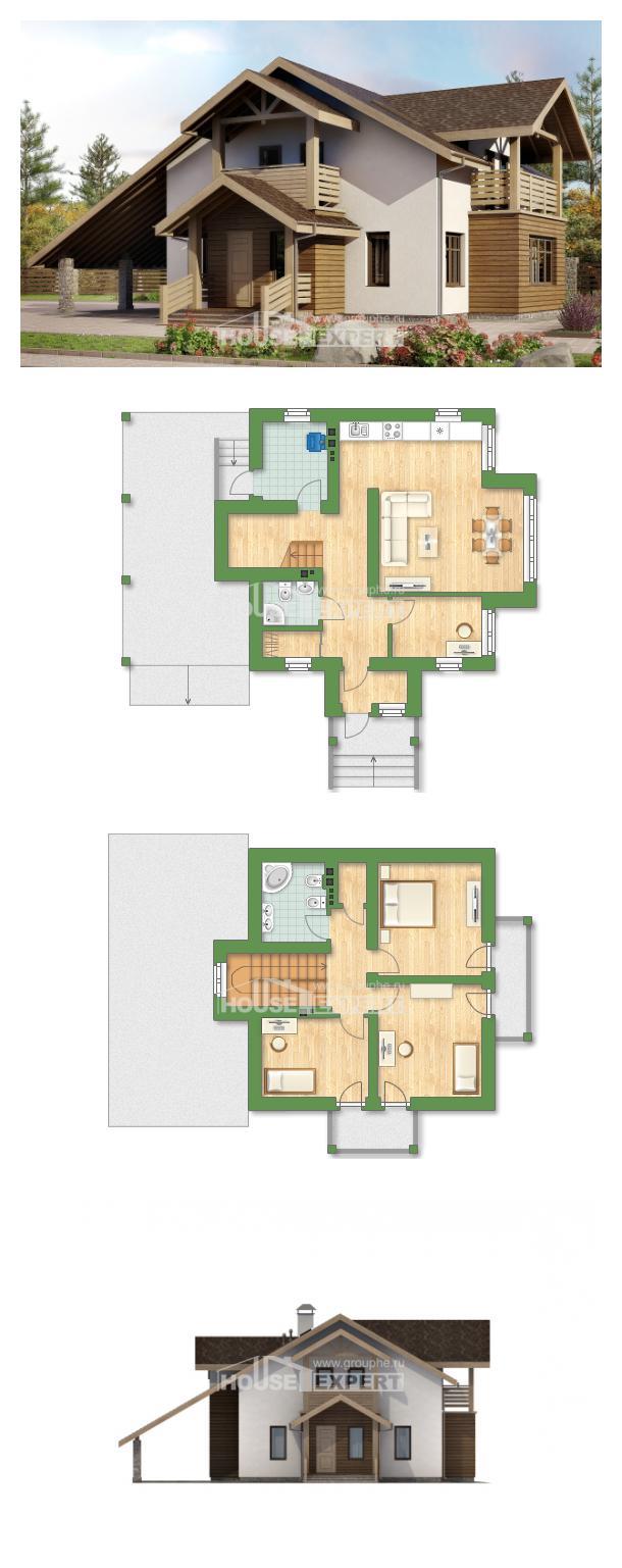 Проект дома 155-010-Л   House Expert