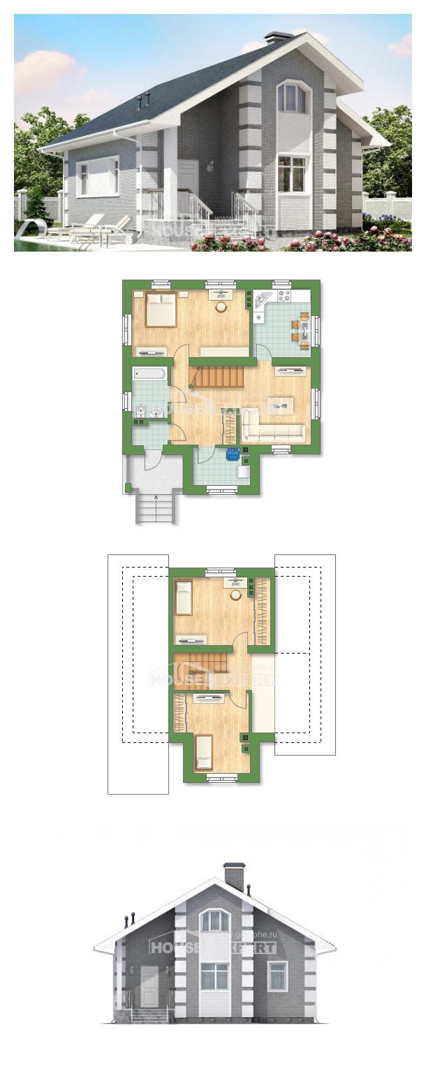 Проект дома 115-001-Л | House Expert