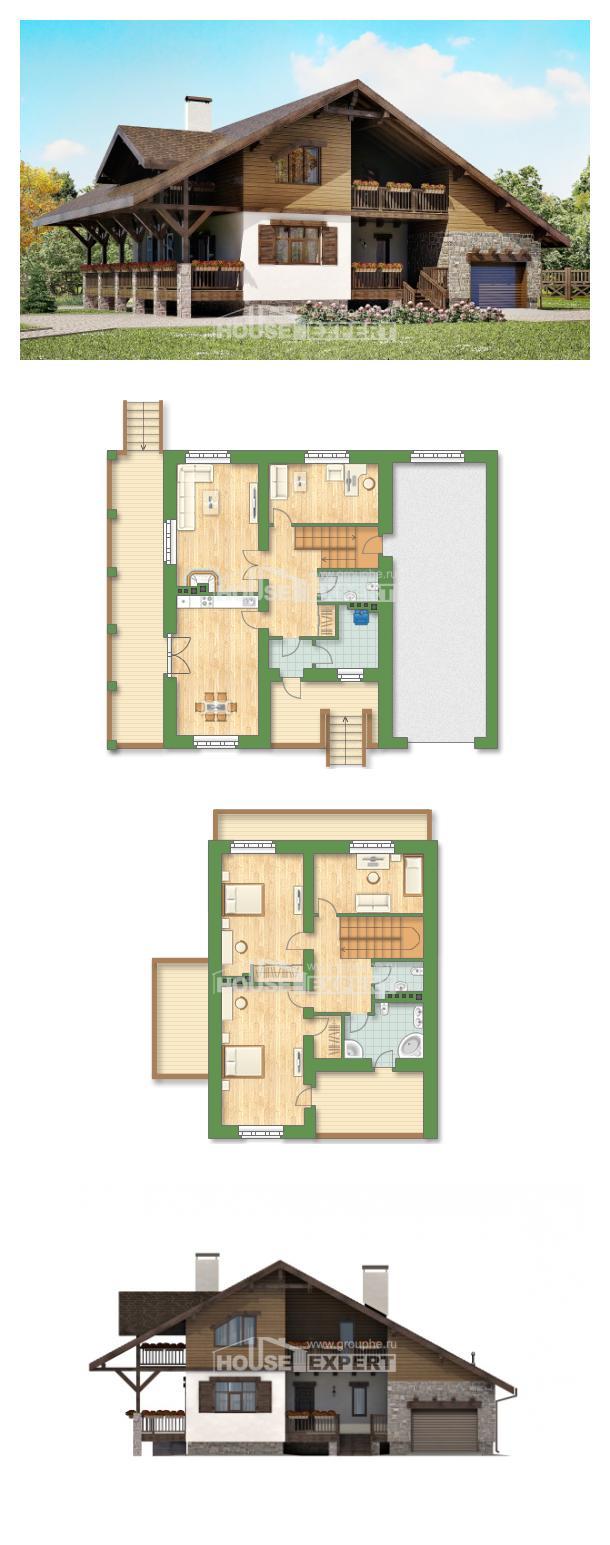 Проект дома 220-005-П | House Expert