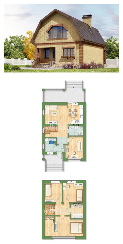 Проект дома 130-005-Л | House Expert
