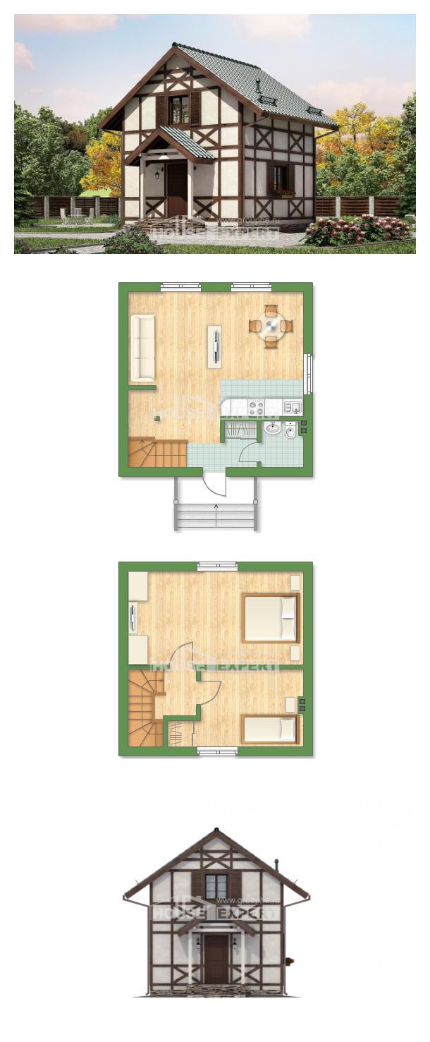 Проект дома 060-002-П | House Expert