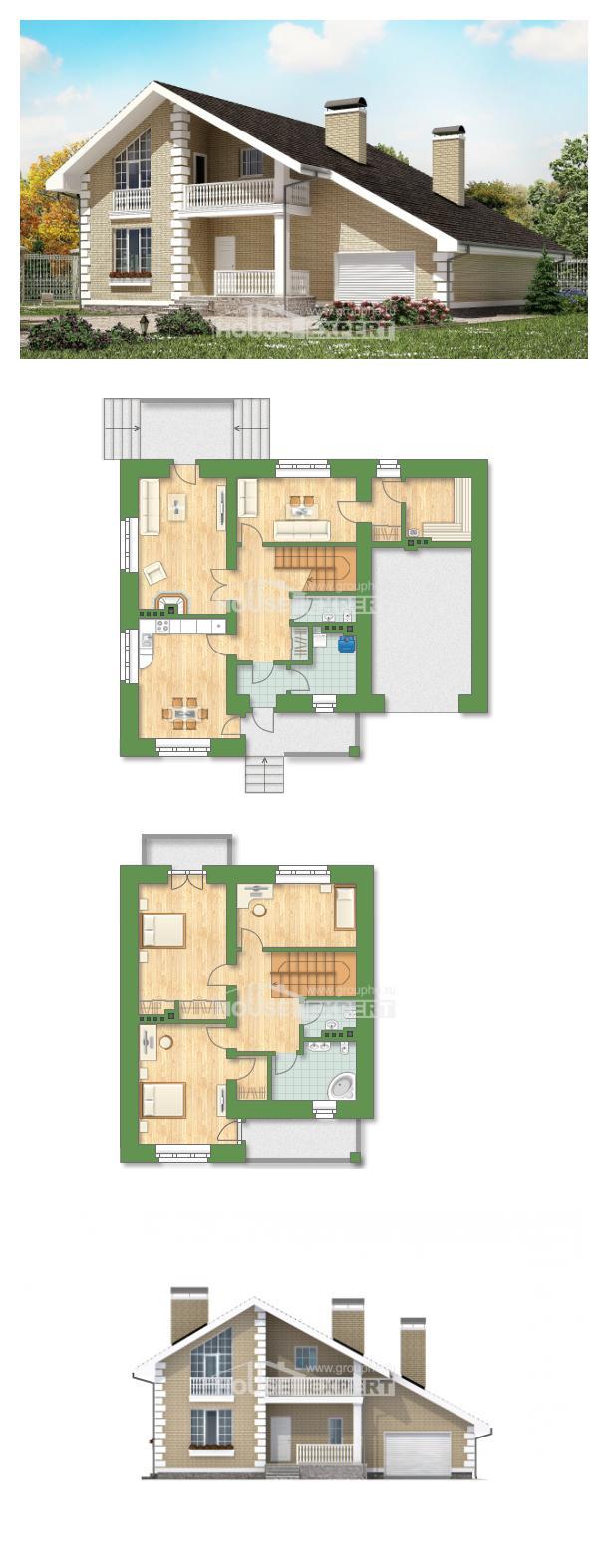 Проект дома 190-005-П   House Expert