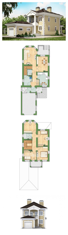 Проект дома 150-006-Л   House Expert