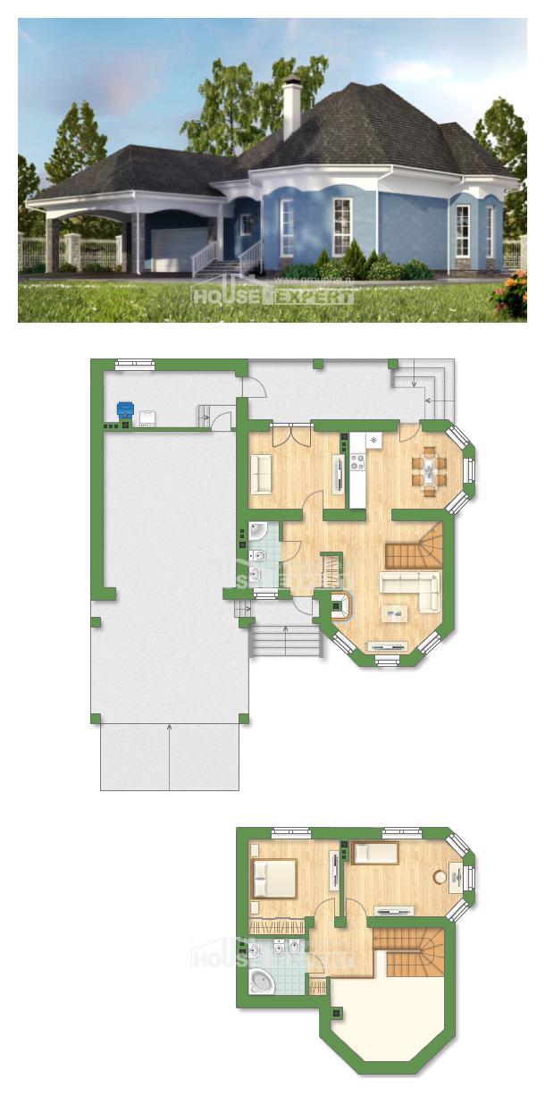 Проект дома 180-007-Л | House Expert