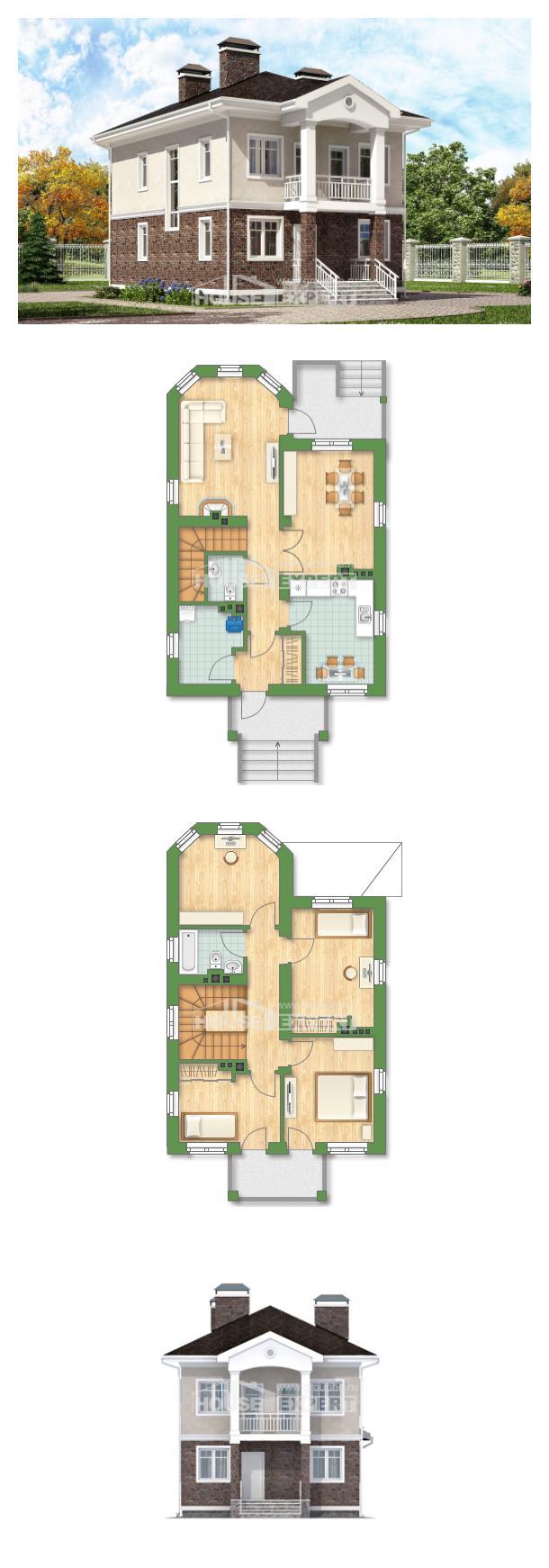 Проект дома 120-001-Л   House Expert