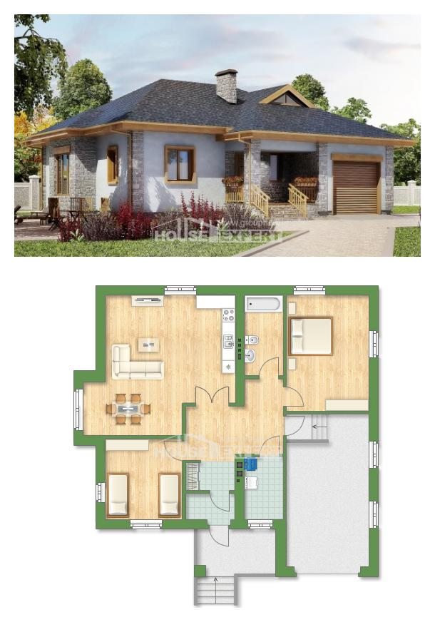 Проект дома 130-006-П | House Expert
