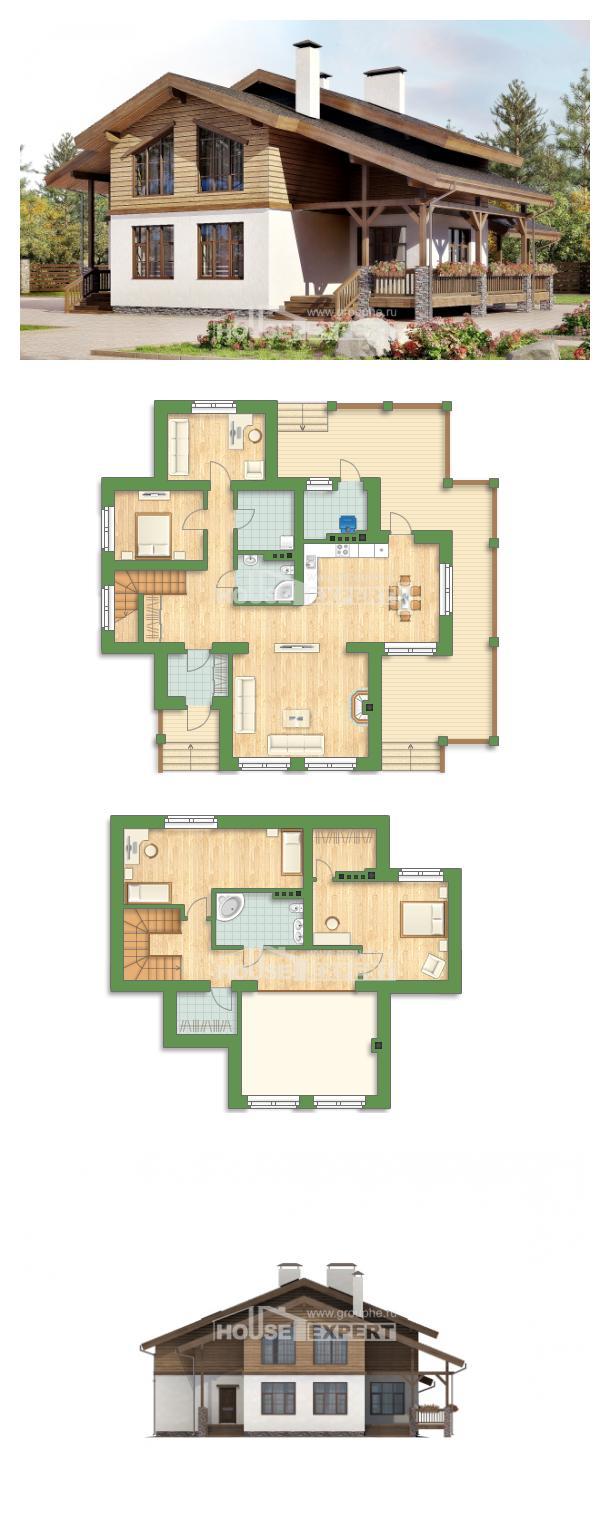 Проект дома 210-006-П   House Expert