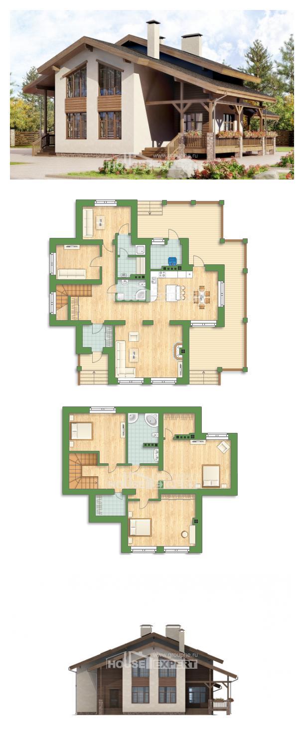 Проект дома 240-003-П   House Expert