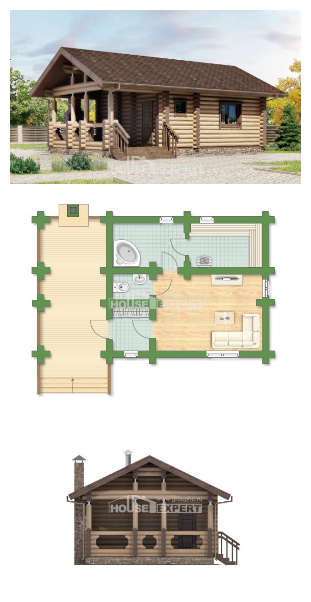Проект дома 060-003-П | House Expert