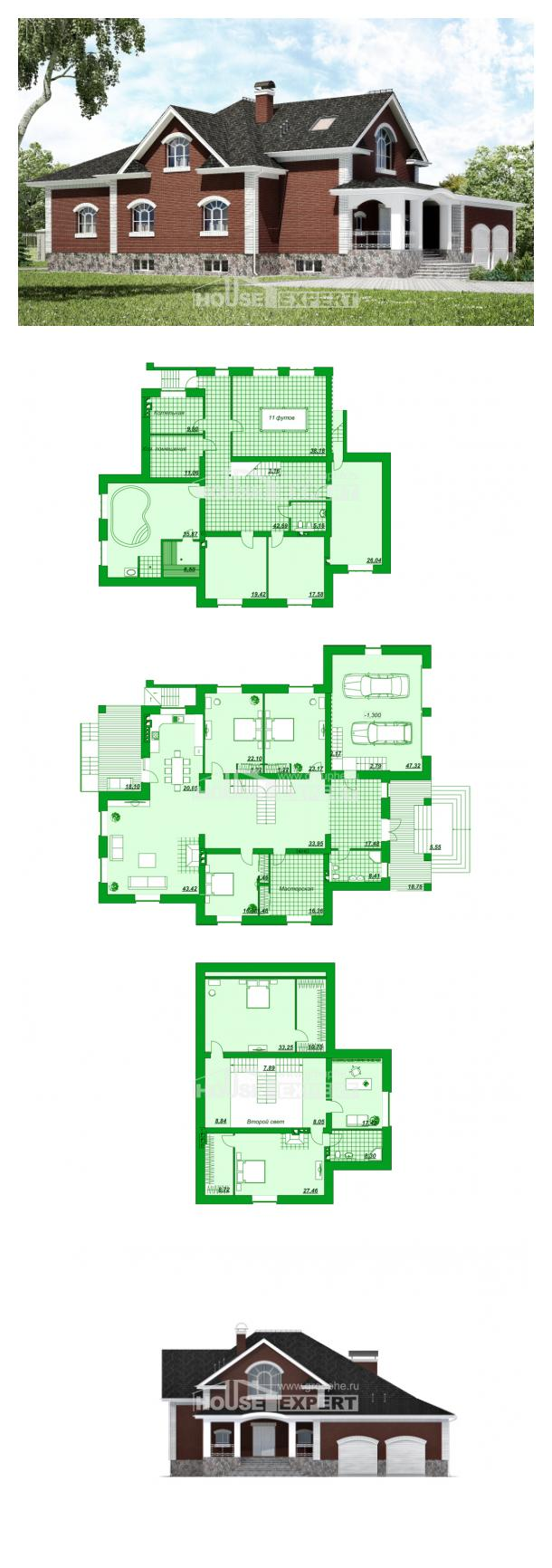 Проект дома 600-001-П   House Expert