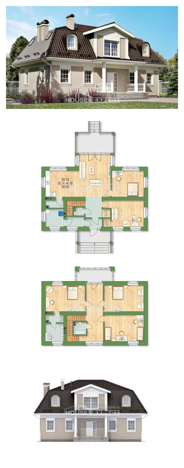 Проект дома 210-001-Л   House Expert