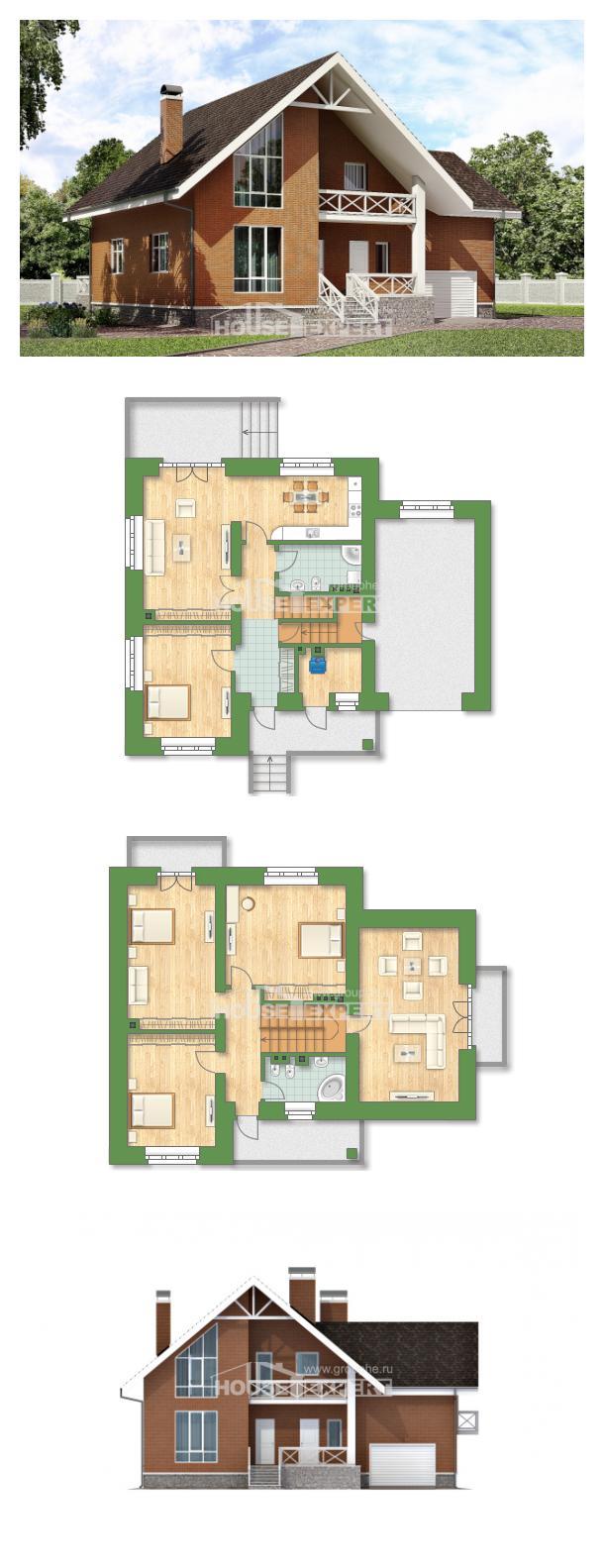 Проект дома 215-001-П   House Expert
