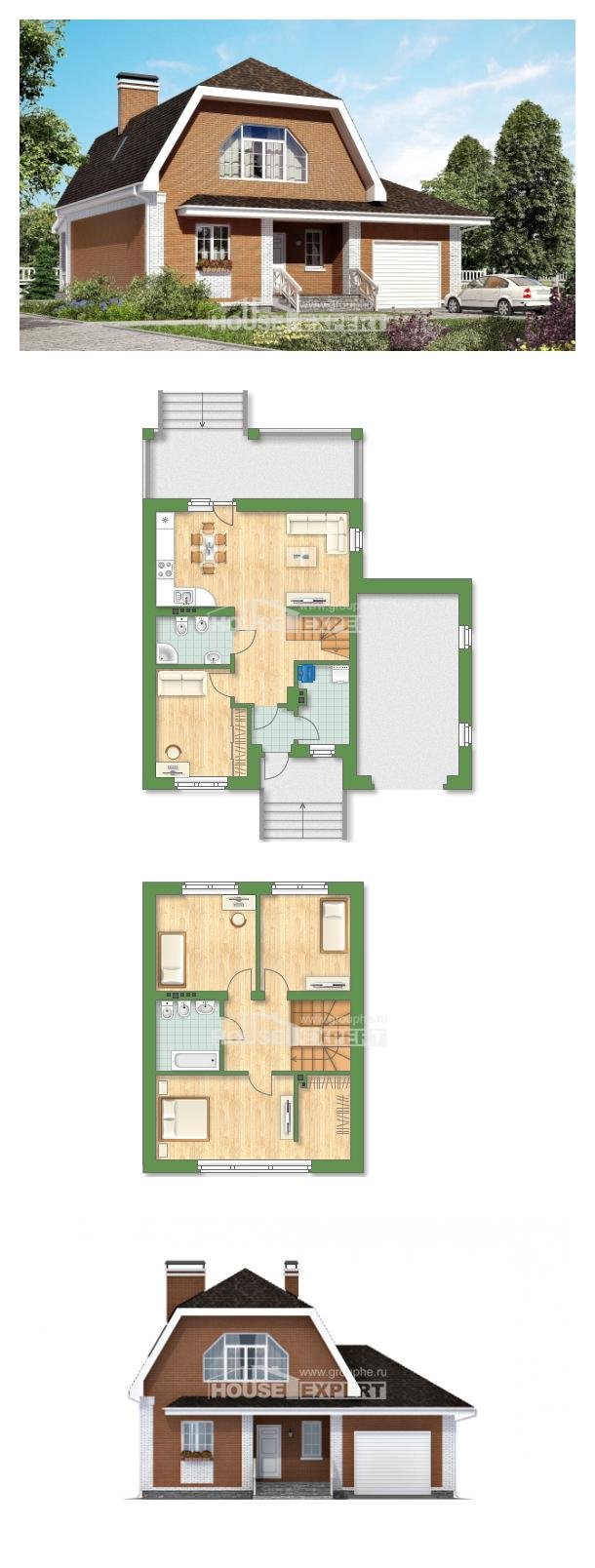 Проект дома 160-006-П   House Expert