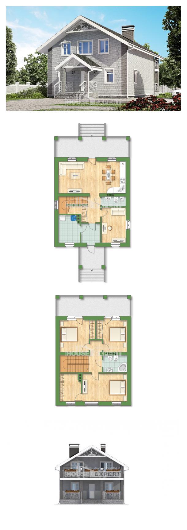Проект дома 150-007-П   House Expert