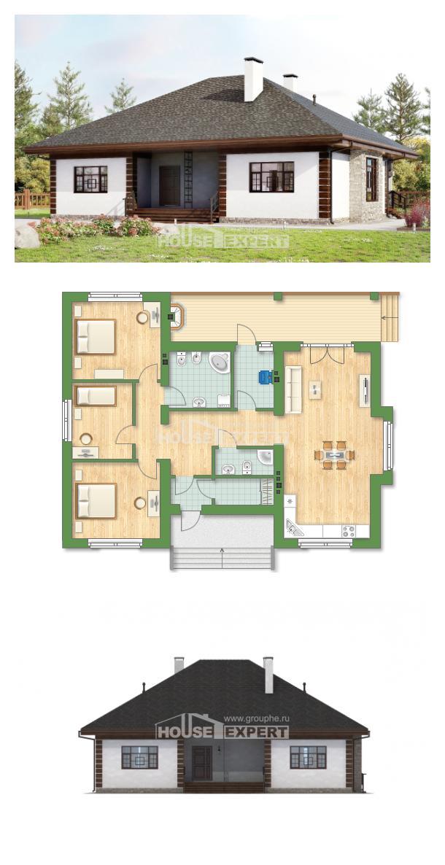 Проект дома 135-003-П | House Expert